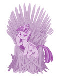 dstears princess_twilight sword throne twilight_sparkle weapon