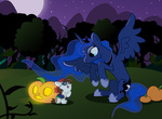 costume halloween moon pipsqueak pirate princess_luna pumpkin sillystell