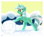 lyra_heartstrings ruby-hooves scarf snow winter
