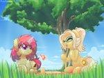magic musicfirewind original_character picnic tree