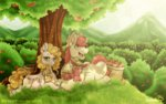 applejack apples big_macintosh bright_mac colt filly inuhoshi-to-darkpen pear_butter trees
