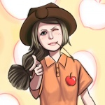 123hamster applejack humanized