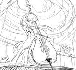 cello instrument jowybean octavia_melody sketch vinyl_scratch