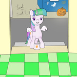 costume halloween princess_celestia pumpkin rodolfomushi twilight_sparkle