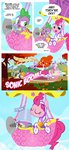 applejack balloon berry_punch bucket carrot_cake cheerilee comic derpy_hooves fillisecond filthy_rich fluffle_puff golden_harvest highres lyra_heartstrings minuette original_character pinkie_pie pixelkitties power_ponies princess_twilight queen_chrysalis spike sweetie_drops twilight_sparkle