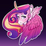 highres princess_cadance turnipberry watermark