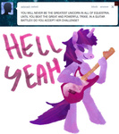 ask asktwilight bipedal dilemarex guitar i_shall_not_use_my_hooves_as_hands twilight_sparkle