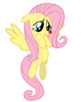 fluttershy highres red_nose socio transparent vector