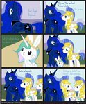 angel comic costume dm29 guard_pony highres princess_luna