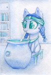 0okami-0ni cauldron filly highres mage_meadowbrook traditional_art