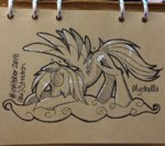 mychelle rainbow_dash traditional_art