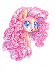 maytee pinkie_pie traditional_art
