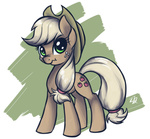 applejack discordified helhoof scrunchy_face