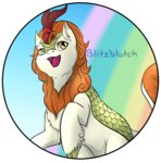 autumn_blaze blitzblotch highres kirin
