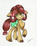 absurdres highres luxiwind ponified species_swap traditional_art yona
