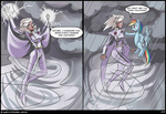 comic crossover highres lexx2dot0 lightning rainbow_dash storm x-men