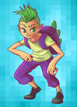 humanized pokemon spike tealab