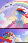 ddhew humanized rainbow_dash wonderbolts