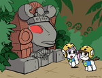 crossover elosande helmet legends_of_the_hidden_temple pipsqueak sweetie_belle