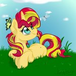 butterfly highres jen-neigh sunset_shimmer