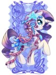amelie-ami-chan highres rarity ribbon saddle transparent watermark
