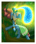 amazingbutterfingers bees flash_bees forest highres mage_meadowbrook mask