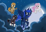 children_of_the_night original_character princess_luna teammagix