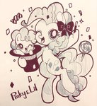 bow hat highres lollipop pinkie_pie rannkiti15 traditional_art