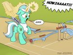 ball cricket highres lyra_heartstrings magic pony-berserker shirt