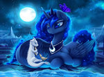 butterfly dragon duck lyra-senpai moon princess_luna