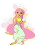 actionkiddy angel cutie_mark fluttershy highres humanized