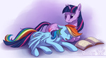 rainbow_dash shinepaw twilight_sparkle