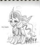 digiral flowers mistmane traditional_art