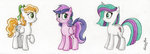 breezie_(pony) nancyksu rainbow_wishes skywishes_(g4) traditional_art