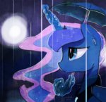 darkflame75 highres princess_luna umbrella