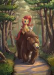 angel bear fluttershy harry highres maggwai