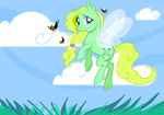 bees ellisarts flutterponies g1 generation_leap morning_glory