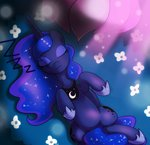 :3 highres hoyeechun princess_luna sleeping