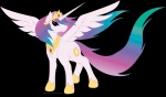 highres princess_celestia spiritofthwwolf transparent vector