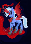 alicorn_amulet derpylover evil magic the_great_and_powerful_trixie wings