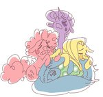 fluttershy pinkie_pie pizzakladd rainbow_dash rarity sad tank tears