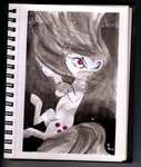 highres marble_pie moonlight-ki traditional_art