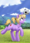 ball flowers grass highres original_character scheadar