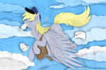 absurdres derpy_hooves flying highres hilis mail mailbag
