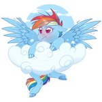 cloud rainbow_dash sadelinav