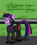 crossover highres kitsune-the-fox star_trek the_borg twilight_sparkle