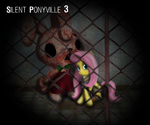 angel costume crossover fluttershy gunslingerpen heather_mason highres parody robbie_the_rabbit silent_hill