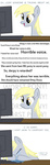 baww comic computer derpy_hooves emotional_blackmail famelessface sad tears the_fucking_fandom