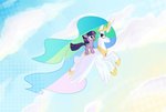 filly naroclie pony_ride_the_pony princess_celestia riding twilight_sparkle
