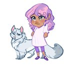 cat earthsong9405 highres humanized rarity species_swap sweetie_belle